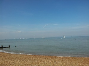 One of my favourite places to chill is on the beach in Whitstable