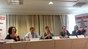 Moral hypocrisy in crime fiction panel at CrimeFest 2013