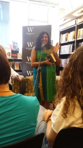 Roshi Fernando, reading from Homesick.